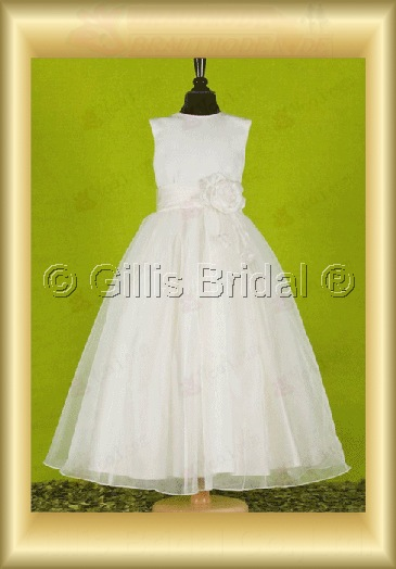 Flower girl Gorgeous floor-length Flower Handcraft flowers Handmade Flower elegant 100070