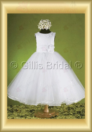 Flower girl Gorgeous floor-length Bowknot Bows Flower Handcraft flowers Handmade Flower elegant 100072