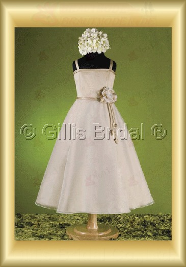 Flower girl Gorgeous floor-length Handcraft flowers Handmade Flower Fashion 100075