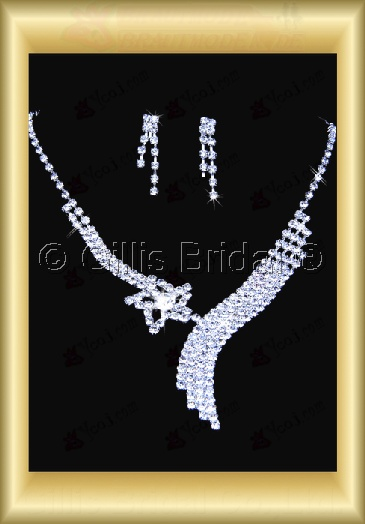 Auxiliary products Bridal Accessories Necklace Jewelry Sets 100403
