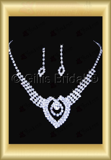 Auxiliary products Bridal Accessories Necklace Jewelry Sets 100407