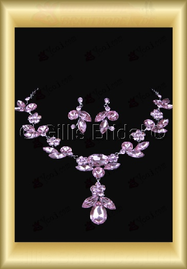 Auxiliary products Bridal Accessories Necklace Jewelry Sets 100409