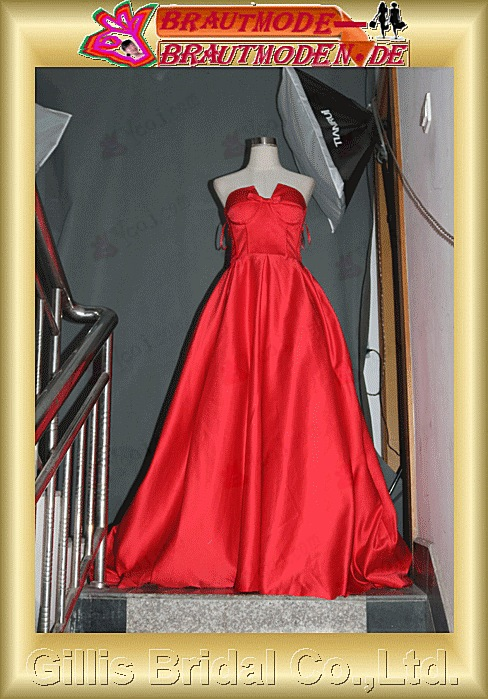 Gillis bridal Wholesale - NEW romantic Sweetheart Mermaid red Satin beaded evening dresses party prom dress Wedding Dress Sold by Gillis Bridal Co., Ltd. http://www.gillisbridal.com/ [ admin_ceo@gillisbridal.com ]gillis1226