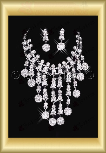 Accessories Bridal Accessories Necklace Jewelry Wedding Jewelry Sets 3842