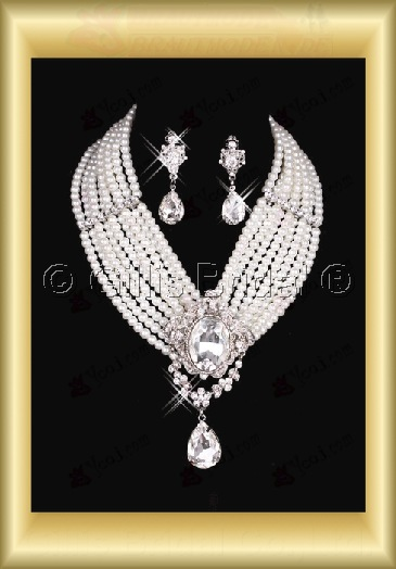 Accessories Bridal Accessories Necklace Jewelry Wedding Jewelry Sets 3845