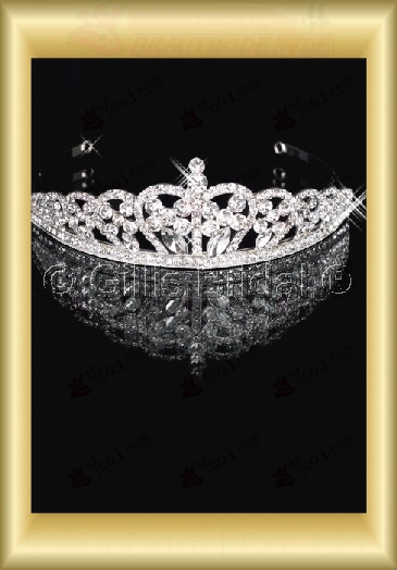 tiara Crown Bridal Accessories Crown Wedding Jewelry Sets 3859