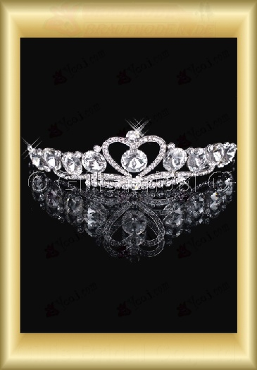 tiara Crown Bridal Accessories Crown Wedding Jewelry Sets 3862