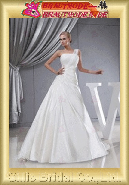 appliques beads Embroidery beaded Beading embroidery strapless Monarch Royal A-line Exquisite modest elegant with A-line bridal gowns A-line wedding dresses White gillis800365