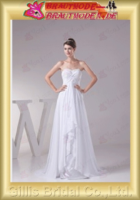 appliques bandage strapless Monarch Royal A-line Exquisite Simple modest Strapless Wedding Dresses Strapless bridal gowns A-line bridal gowns A-line wedding dresses ruffle White gillis800379