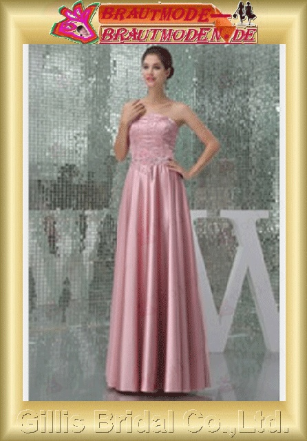 Taffeta pleated ruffle Fold beads Embroidery beaded Beading embroidery Zip strapless Long dress Floor-length A-line Simple Exquisite romantic elegant modest elegant prom dresses evening dresses formal dresses evening prom dress Ball gillis800583