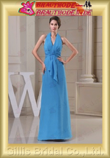 Chiffon pleated ruffle Fold Vertically Draped Halter Floor-length A-line backless Open back Simple Exquisite Fashion elegant modest elegant wedding dresses wedding dress dresses backless wedding dress prom dresses evening dresses prom gillis800589