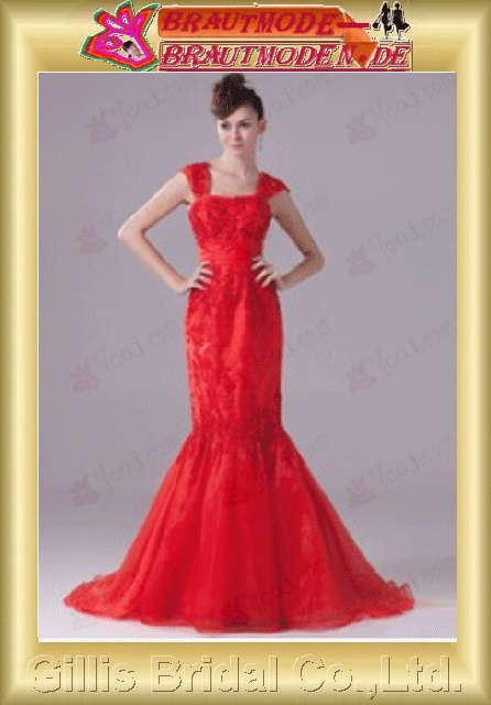 Organza beads Embroidery beaded Beading embroidery Off-the-shoulder Monarch Royal Mermaid mermaid backless Open back Simple Exquisite elegant elegant Gorgeous floor-length gown evening dresses 801016