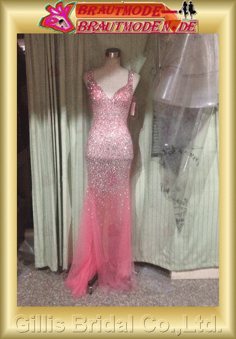 Tulle Voile Net Tulle beads Embroidery beaded Beading embroidery Off-the-shoulder Sweep Brush A-line backless Open back Simple Exquisite Fashion dresses prom dresses Gorgeous floor-length gown evening dresses ball Ball Gown Prom Dresses 801215